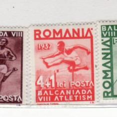 Romania    1937    A  8-a   Balcaniada  de  atletism