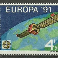 1991 - Europa CEPT, neuzata
