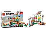 Joc de constructie, BELA, Angry Birds, Orasul Pig, Numar piese 405 6+