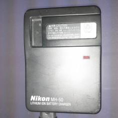 Charger Nikon MH-50 cu acumulator Nikon EN-EL1 (si cablu alimentare)