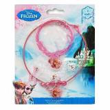 Set 5 bijuterii pentru fetite-Disney Frozen WD7128, Roz