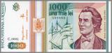 ROMANIA 1000 LEI 1993 - AUNC