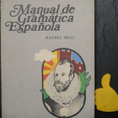 Manual de gramatica espanola Rafael Seco