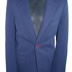 Sacou casual-elegant pentru baieti-Koszulland SKO1-B, Visiniu