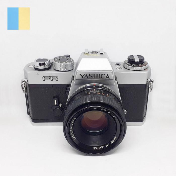 Yashica FR cu obiectiv Yashica Lens ML 50mm f/1.7