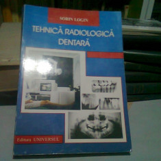 TEHNICA RADIOLOGICA DENTARA - SORIN LOGIN