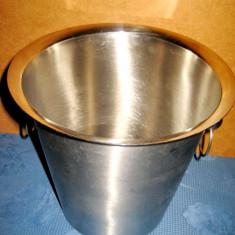 A927-Frapiera mare bauturi ghiata inox noua.