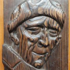 Principele Wilhelm Sucdici ; Sculptura in lemn de Ioan H. Sarghie , 1932
