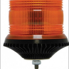 Girofar LED Galben cu lentile exterioare Fresnel si un singu