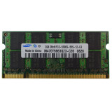 Cumpara ieftin Memorie Laptop 2GB DDR2 PC2 5300S 667Mhz Samsung