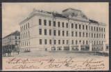 TIMISOARA BANAT MILITARA SCOALA CADETI INFANTERIE K.U.K.CLASICA CIRCULATA 1902, Printata