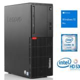 Cumpara ieftin Lenovo ThinkCentre M710t Desktop, Intel Core i5-6500, 8 GB RAM, 500Gb HDD, DVDRW, DisplayPort, VGA, Windows 10 Pro