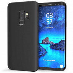 Husa SAMSUNG Galaxy S9 - Luxury Slim Mat TSS, Negru
