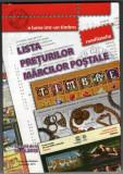 LISTA PRETURILOR MARCILOR POSTALE ROMANESTI 2015