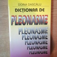 DICTIONAR DE PLEONASME de DOINA DASCALU,1997