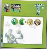 Norvegia  2002  sport  fotbal   MI  1426-29  serie + FDC   MNH   w59