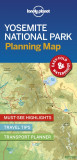 Lonely Planet Yosemite National Park Planning Map