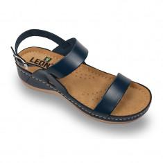 Sandale Leon 920 albastru – dama