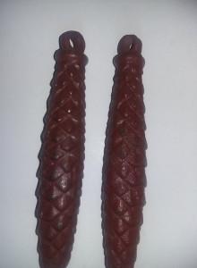 2 GREUTATI/CONTRAGREUTATI Originale FARA lanturi de la ceas cu cuc MAJAK,T.GRAT