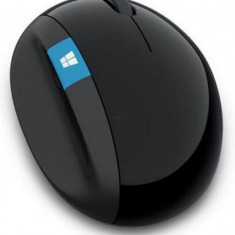 Mouse Microsoft Wireless Sculpt Ergonomic, Editie Business (Negru)