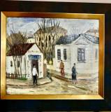 Tablou U/C Alexandru Tipoia- Strada, Peisaje, Ulei, Altul