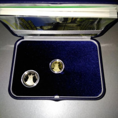 Set BNR Moneda Aur + Alama Stefan cel Mare cu Manastirea Putna + Caseta BNR +...