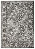 Covor Modern & Geometric Twin, Negru, 120x170, Bougari