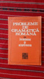 Probleme De Gramatica Romana. Intrebari Si Raspunsuri - Iancu Coleasa