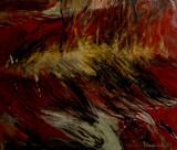 "Ion BANULESCU, ""Orasul"" ulei pe panza 102x126 cm, Nonfigurativ, Abstract"
