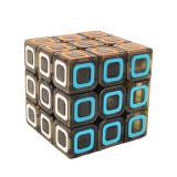 Cub Rubik 3x3x3 QI YI Cube, cu fete translucide