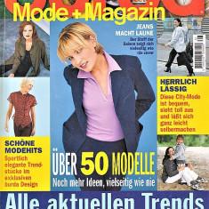 Burda revista de moda 1/1999 Insert limba romana 50 tipare  (croitorie)