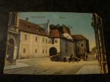 Carte postala  - Hermannstadt - Sibiu - Rathaus - 1913, Circulata, Printata