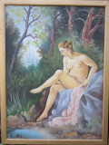 """Pictura nud """"Diana"""""""