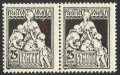 EROARE-VARIETATE ASISTENTA SOCIALA --PERECHE----1921--MNH