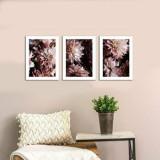 Cumpara ieftin Tablou decorativ, Onno, MDF 100 procente, 3 piese, 94 x 40 cm, 264ONN3102, Multicolor