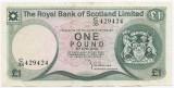 Scotia 1 Pound Sterling 01.05.1981 -  429424, P-336