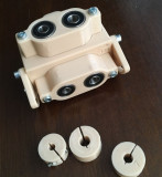 Sablon mobila din plastic dur bej forma U pt ericsoane si cepi lemn