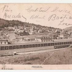 Predeal Gara 1920, Circulata, Printata