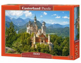 Puzzle View of the Neuschwanstein Castle, Germany, 500 piese, castorland