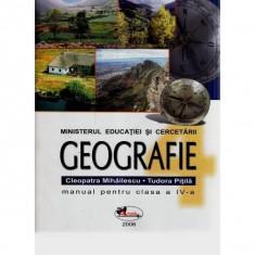 Manual geografie Clasa 4 - Cleopatra Mihailescu, Tudora Pitila