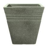 Cumpara ieftin Ghiveci imitatie marmura verde fara farfurie Keter Piazza 34 cm 18 L