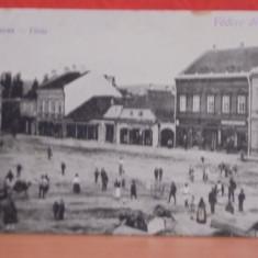 FAGARAS - VEDERE DIN ORAS - EDITATA IN 1918,MODIFICATA DUPA - NECIRCULATA -