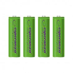 Baterii reincarcabile Ni-MH AA 2000MAH x4, Esperanza EZA104G