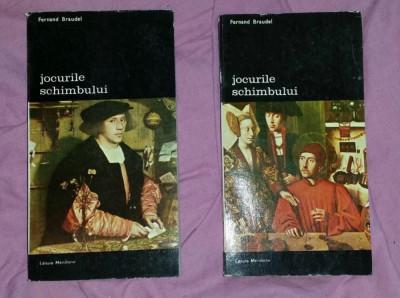 Jocurile schimbului / Fernand Braudel Vol. 1-2 foto