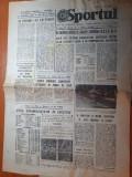 Sportul 7 mai 1979-etapa diviziei A,dinamo lider si f.c arges pe locul 2