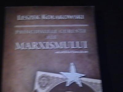 PRINCIPALELE CURENTE ALE MARXISMULUI-VOL2-LESZEK KOLAKOWSKI-TRAD. CATA. CINDEA foto