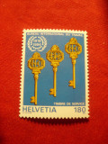 Serie Elvetia - Ziua Internationala a muncii , 1 valoare