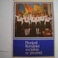 Pionierii Romaniei socialiste se prezinta