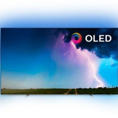Televizor OLED Philips 139 cm (55inch) 55OLED754/12, Ultra HD 4K, Smart TV, WiFi, CI+