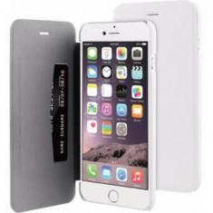 Husa Telefon Book Case Apple iPhone 6+ 6s+ White BeHello